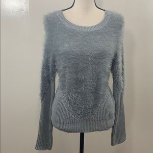 VINCE CAMUTO half fuzzy sweater